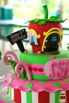 Little Girls Birthday Cake Awesome Cakes Sugar Rush By