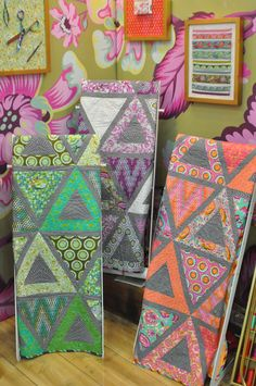 *  Chopsticks by Jaybird Quilts made with Tula