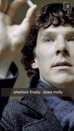 21 Snapchats From Sherlock | 21 Snapchats From Sherlock - No, really. Straight to hell. :)