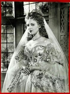 Linda Darnell in Forever Amber wearing Joseff Hollywood Jewelry