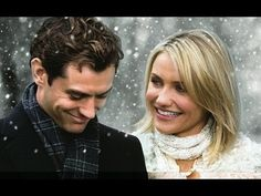 The Holiday ~ 2006 ~ Cameron Diaz, Kate Winslet, Jude Law & Jack Black! Jude Law is so adorable in this movie! Jude Law, Cameron Diaz, Funny Christmas Movies, Classic Christmas Movies, Holiday Movies, Love Actually, Movie List, I Movie, Best Romantic Movies