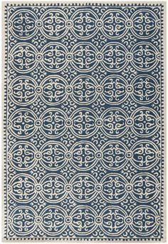 Bring classic style to your bedroom, living room, or home office with a richly-dimensional Safavieh Cambridge Rug. Artfully hand-tufted, these plush wool area rugs are crafted with plush and loop textures to highlight timeless motifs updated for...