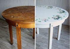 Реставрация старого стола своими руками – мастер-класс | Chayikofskiy.ru