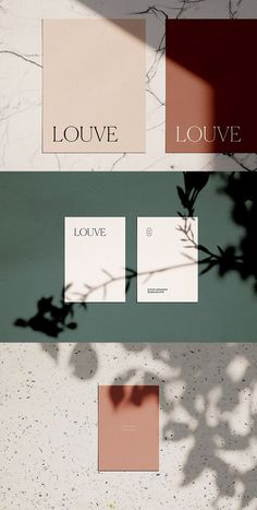 Louve Mockup Kit is a photo-based scene creator featuring natural sunlight and botanical shadows – ideal for creating photorealistic stationery mockups with a casual, authentic vibe. Graphisches Design, Logo Design, Graphic Design Branding, Stationery Design, Corporate Design, Layout Design, Packaging Design, Print Design, Design Color