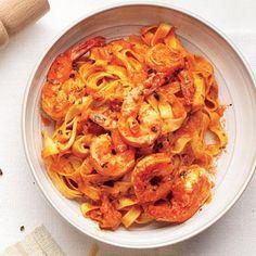 Shrimp Vodka Pasta | CookingLight.com
