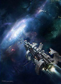 Science Fiction World: Photo Science Fiction Art, Pulp Fiction, The Stars My Destination, Starship Concept, 70s Sci Fi Art, Sci Fi Ships, Futuristic Art, Space Crafts, Retro Futurism