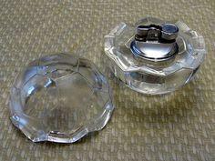Vintage Crystal Cigarette Lighter