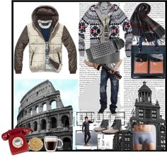 """men's fashion 2012 winter"" by loveinlove on Polyvore"