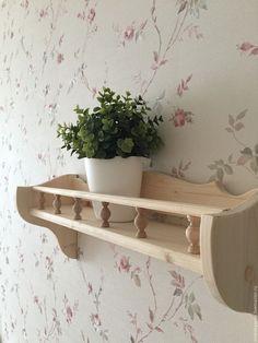 Easy Home Decor, Home Decor Kitchen, Wood Pallet Furniture, Diy Furniture, Wooden Spice Rack, Home Bar Designs, Wood Carving Patterns, Rustic Shelves, Wood Doors