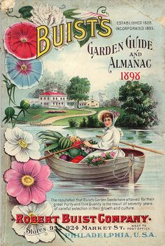 Buist's Garden Guide and Almanac - Philadelphia, PA. - circa 1898