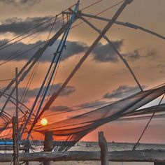 """""""No one realizes how beautiful it is to travel until he comes home and rests his head on his old, familiar pillow."""" –Lin Yutang Beautiful sunset at Fort Kochi. . #fortkochi #kochi #kerala_ig #india_ig #India_Gram #indiatravelgram #indiantravelsquad #ipxl #mypixeldiary #indiapictures #india_clicks #moodygrams #worldbestgram #Yourshot_india #lonelyplanetindia #EverydayIndia #_hoi #_coi #_soi #_indiasb #travel_gram #travelrealindia #travel #beautifuldestinations #beautiful #instagood…"""