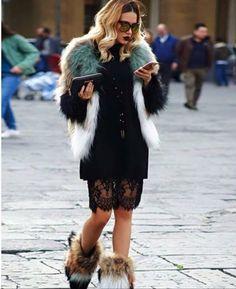 #fur #coat