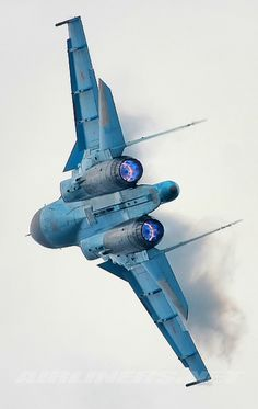 Russian Air Force Sukhoi Su-34.