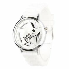 Tanboo Hollow Out Star Pattern Design Unisex Quartz Wrist Watch with Crystal Decoration - White by Tanboo Watchs. $8.99. Sports Fan Watch. Gender:Women's, Men'sMovement:QuartzDisplay:AnalogStyle:Wrist WatchesType:Fashionable Watches, Casual WatchesFeature:Water ResistantBand Material:SiliconeBand Color:WhiteCase Diameter Approx (cm):4.0 x 4.0Case Thickness Approx (cm):0.8Band Length Approx (cm):24.5Band Width Approx (cm):1.8