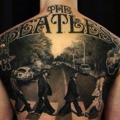 The Beatles tattoo stencil. Future Tattoo Ideas