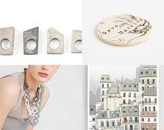 Amelia! by Erifili on Etsy featuring concrete jewelry - geometric minimalist concrete ring by shooohsJewelry