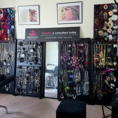 too much jewelry close to floor. I wouldn't be able to lean over to see it at that level.