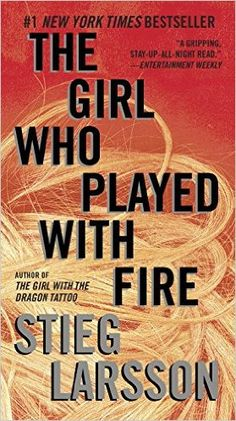Amazon.com: The Girl Who Played with Fire (Millennium Series) (9780307949509): Stieg Larsson: Books