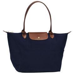 Longchamp Grande Sac Shopping de Pliage Bleu Foncé 45,00 €      http://www.lesacpascher.fr/longchamp