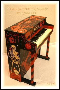 Halloween Piano by Cali Lee