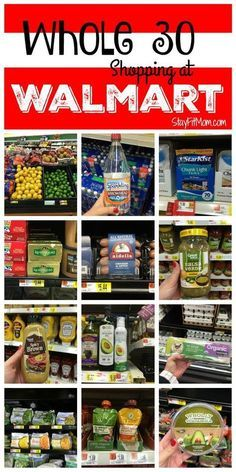Walmart Shopping List Long list of foods you can find at Walmart!Long list of foods you can find at Walmart! Whole 30 Diet, Paleo Whole 30, Whole 30 Recipes, Whole Food Recipes, Paleo Recipes, Whole 30 Meal Plan, Whole Food Diet, Yummy Recipes, List Of Whole Foods