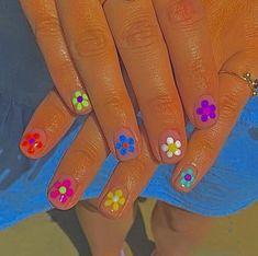 Summer Acrylic Nails, Best Acrylic Nails, Acrylic Nail Designs, Minimalist Nails, Cute Simple Nails, Pretty Nails, Nail Swag, Aycrlic Nails, Hair And Nails
