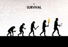 16 Thought-Provoking Satirical Illustrations That Will Make You Question Human Evolution Satirical Illustrations, Illustrations Posters, Design Illustrations, Evolution Cartoon, Human Evolution, Gouache, Graphic Design Illustration, Illustration Art, 99 Steps
