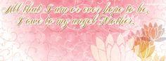 Angel Mother Facebook Cover CoverLayout.com