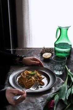 Spaghettoni alla crema di zucca e robiola_3397