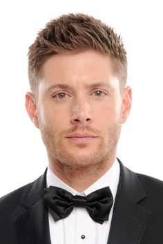Men's Hairstyles: Soft Spikes.     Ha ha, Jensen for a man's hairstyle. :D
