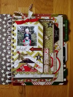 JulieChats: December Daily 2013 with the Heidi Swapp Believe Memory File Album Heres my first post of my 2013 December Daily album!
