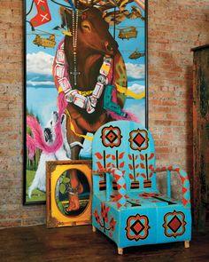 AphroChic: Nick Cave's Artsy Chicago Loft