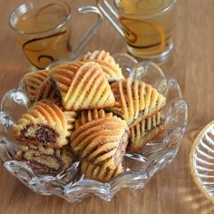 Makrout - Oriental pastry with semolina and dates