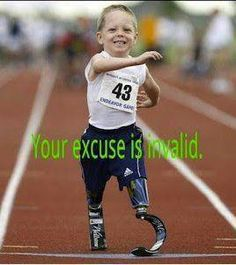 Your Excuse Is INVALID...!