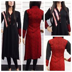 Gorgeous embroidered Kurti available now to buy at only 17.99. Stunning thread kaam and contrasting back  ------------------------------------------------- Available in XSmall small medium and large. Limited stock so order quick to avoid disappointment. Order direct from our website www.desiposh.com or whatsapp us on 07814401897 to place your order. ----------------------------------------http://ift.tt/1ZkaA26  #lovedesilovefashion #latestfashion #pakistanistyle #pakistanifashion…