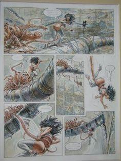 Akim Stripwinkel - Druuna 1 Comic Book Layout, Comic Books, Serpieri, Graphic Novel Art, Sexy Drawings, Fantasy Inspiration, Erotic Art, Drawing S, Anime Manga