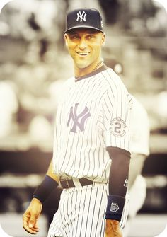 """""""...the most sacred thing, the thing that means the most to me is to be remembered as a Yankee."""" -Derek Jeter...And that you will, Captain"""