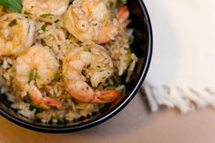 Cajun Shrimp with Rice weeknight easy healthy quick dinner seafood
