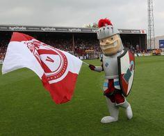 Manten & Kalle our team mascottes!
