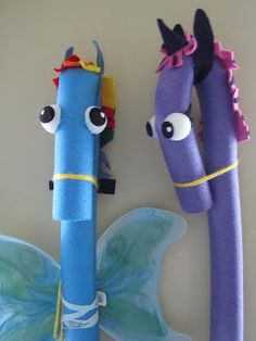 Pool noodle crafts, horse birthday parties, my little pony birthday par Horse Birthday Parties, My Little Pony Birthday Party, 5th Birthday, Birthday Ideas, Horse Party, Cowgirl Party, Pool Noodle Horse, Party Unicorn, Pool Noodle Crafts