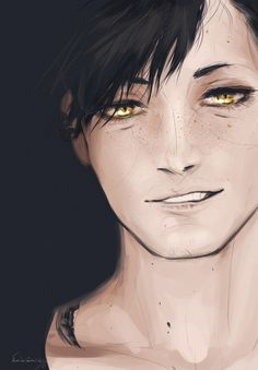 kuroo tetsurou- omg omg he's so hot!!!! Credit to the amazing artist!