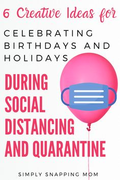 Celebrating important events during quarantine and social distancing is not only possible, it's crucial! Check out these 6 simple ways to celebrate birthdays, holidays or even celebrate mother's day during lockdown or quarantine. 10th Birthday, Diy Birthday, Birthday Celebration, Kids Party Themes, Diy Party Decorations, Party Ideas, Birthday Interview, Birthday Traditions, Happy Kids