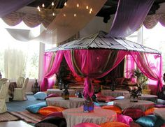 Middle Eastern Theme Party