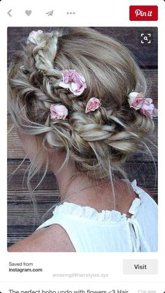 Great Boho prom hair! Adorable for the right person The post Boho prom hair! Adorable for the right person… appeared first on Amazing Hairstyles .