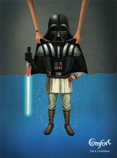 What Happens When You Soak Darth Vader And Hitler In Fabric Conditioner?
