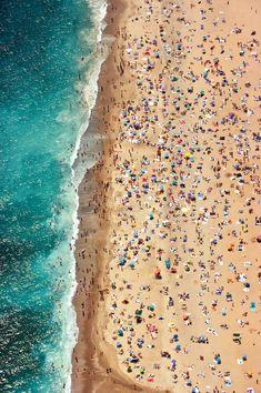 Mar, gente, color.