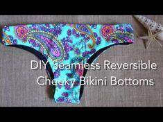 8cbe34e1901 DIY Seamless Reversible Cheeky Bikini Bottoms, My Crafts and DIY Projects  Swimsuit Pattern, Cheeky