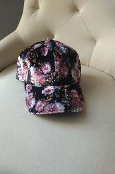 aa813e00eeb Floral hat  fashion  clothing  shoes  accessories  womensaccessories  hats  (ebay