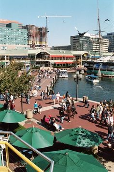 Inner Harbor, Baltimore, MD.