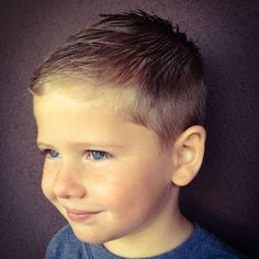 35 Cute Little Boy Haircuts + Adorable Toddler Hairstyles Guide) - Crew Cut + Low Taper Fade – Best Little Boy Haircuts: Cute Toddler Boy Hairstyles – Short, Medi -
